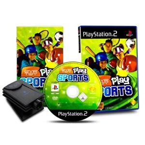 PS2-Jeu-Oeil-Jouet-Eyetoy-Play-Sports-avec-Appareil-Photo