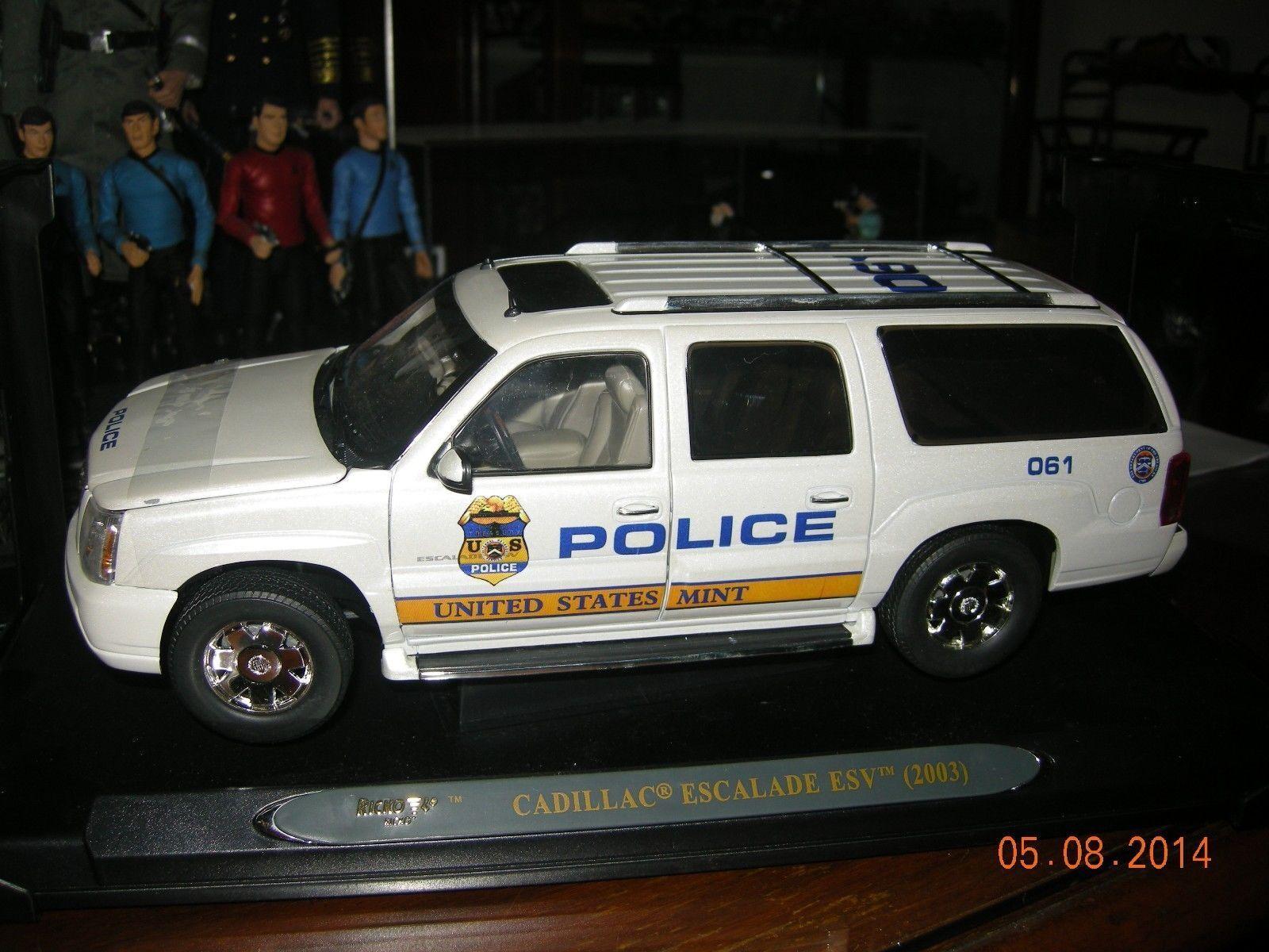 Cadillac ecalade 2003 Ricko policía Personalizado Con Cámara