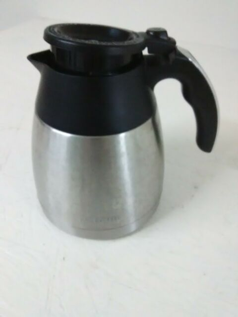 Mr. Coffee Optimal Brew Thermal Stainless Steel Carafe Pot/Lid Replacement | eBay