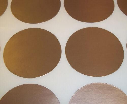 100 GOLD 15mm 1//2 pouce code couleur ronde Dots stickers collant id étiquettes