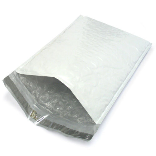 "50PCS #1 7.25""x12"" Poly Bubble Padded Envelope Shipping Mailer Seal Bag"