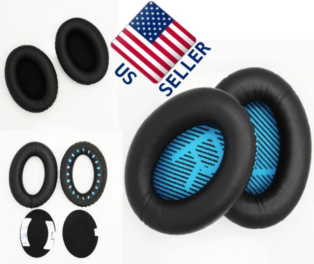 Replacement Bose Ear Pads / Headphone Cushions for QC2 QC25 QC35 QC15 AE2 AE2i