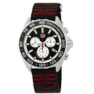 47991a1264a La foto se está cargando Tag-Heuer-Formula-Uno -Cronografo-Cuadrante-negro-Reloj-