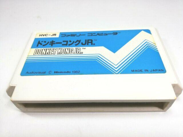Donkey Kong Jr. Famicom Japan Nintendo NES