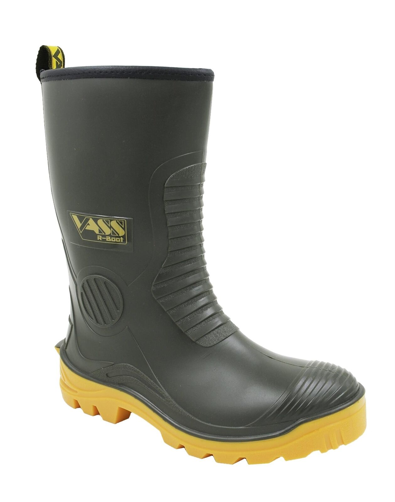 Vass Tex Mens   Adults Non Studded Fur Lined Waterproof R Stiefel