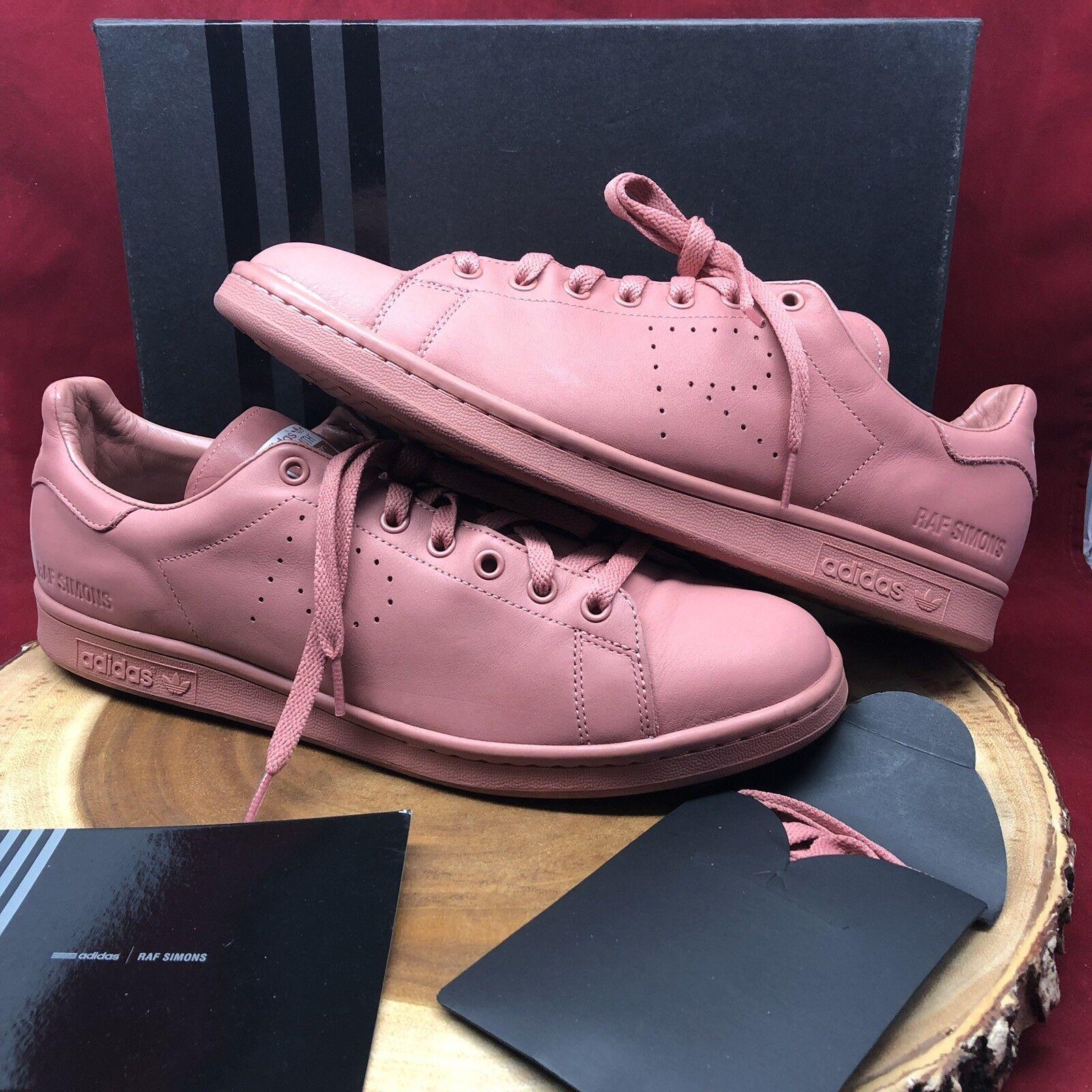 size 40 d6696 a7d2a Adidas Raf Simons Stan Smith Ash Pink Dust Sand AQ2646 Men's Size 13 ASAP