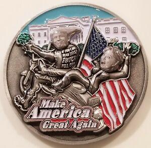 US-President-Donald-Trump-That-Bitch-Hillary-Clinton-Challenge-Coin-non-NYPD