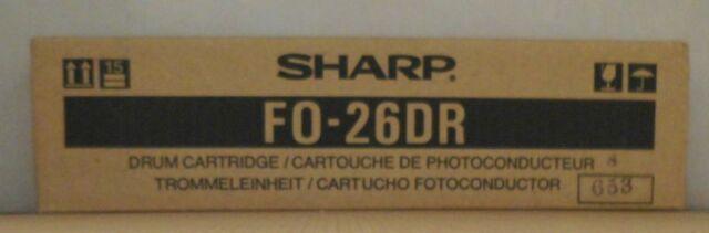 Original Sharp Trommeleinheit Drum FO-26DR für Fax  F 2700M 2600 2600D OVP A