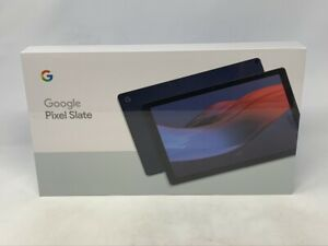 Google Pixel Slate Midnight Blue 1.5GHz Intel Celeron 8GB 64GB SSD - WiFi - NEW!