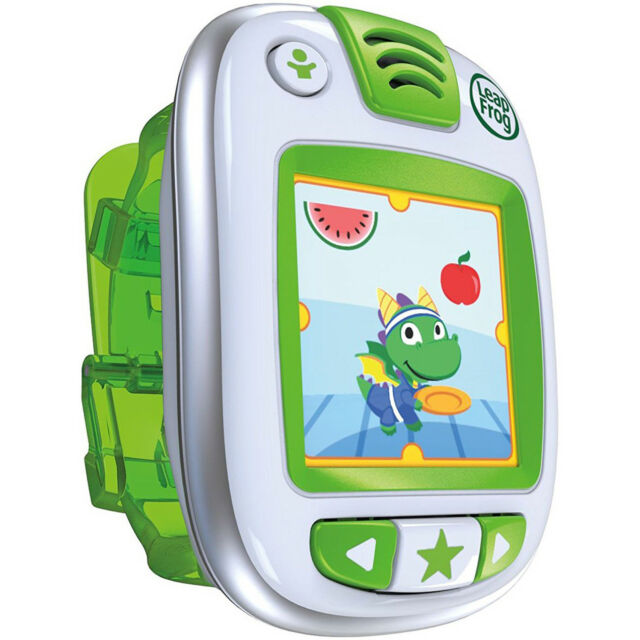 LEAPFROG LEAPBAND ACTIVITY TRACKER GREEN WATCH GAMES KIDS AGES 4-7 YEARS NEW