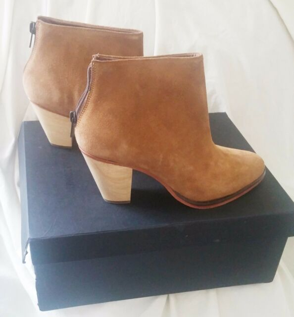 RACHEL COMEY Suede Boots Prose Style New with Box Damage ($450 Retail) Size 6