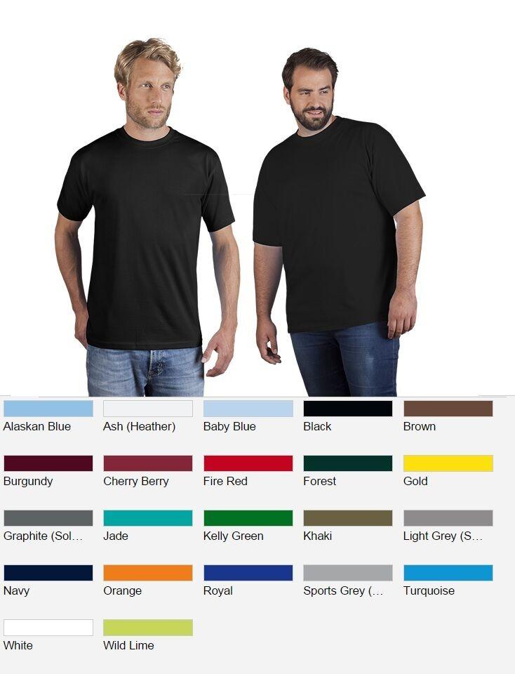 PromodGold 3099 T Shirt Herren 10er Pack S - XXL 3XL 4XL 5XL Premium 60° waschbar