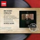 Richard Strauss Tone Poems Rudolf Kempe Audio CD