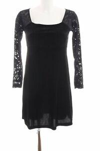 HENNES COLLECTION BY H&M Langarmkleid schwarz Elegant ...