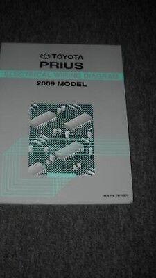 2009 Toyota Prius EWD Electrical Wiring Diagrams Manual ...