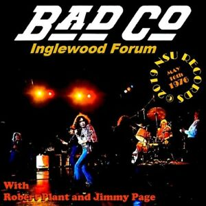 Bad Company Live At The Inglewood Forum 1976 May 16th Ltd 2 Cd Ebay