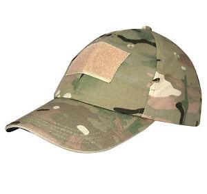 MIL-COM CAMO BASEBALL CAP – british army mtp multicam hat tactical ... a89cfef8906