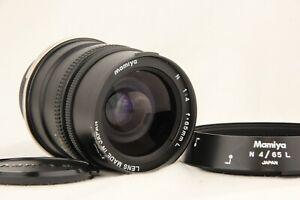 Optics-Quasi-Nuovo-MAMIYA-N-65mm-f-4-Lente-per-MF-L-Mamiya-7-7II-dal-Giappone