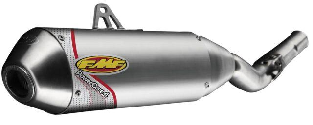 NEW FMF RACING PowerCore 4 Spark Arrestor Slip-On EXHAUST MUFFLER 044313