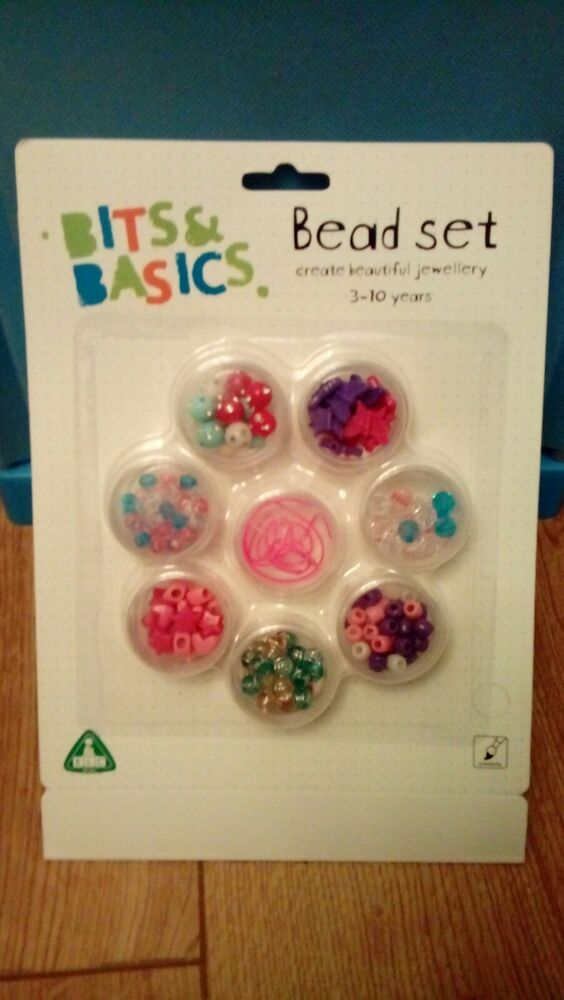 Nouveau Stocking Filler Early Learning Centre (cfe) Filles Bijoux Bead Set
