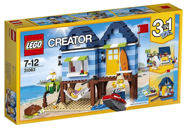 Vacaciones en la Playa - LEGO CREATOR 31063 - NUEVO