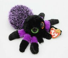 """Details about  /TY Halloween Beanie Baby Boos 6/"""" CREEPER Purple Spider Plush Animal Toy"""
