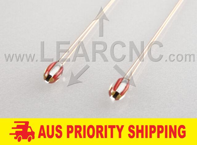 LearCNC - 2 Pack B57560G104F 100K 1% NTC Thermistor RepRap 3D Printer Heated Bed