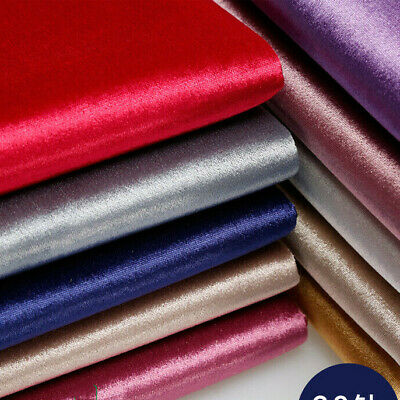 Sofa Upholstery Velour Fabric Thick