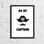 Ay-ay-el-capitan-pirata-impresion-monocromatica-Pared-Arte-Para-Childrens-bedroom-A4