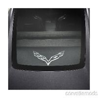 C7 Corvette Stingray 2014+ Cargo Shade Upper & Lower Shades