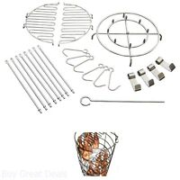 Turkey Fryer Accessories 22 Pieces Classic Steel Fry Kit Cooking Delicious Meat