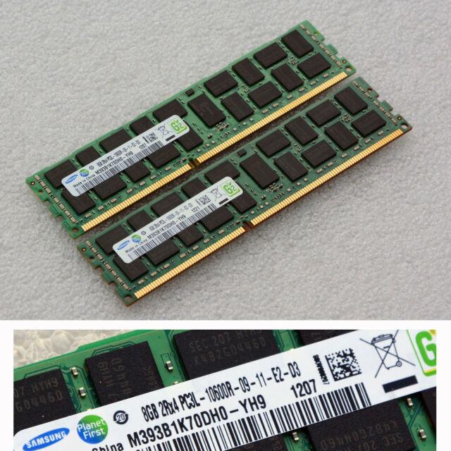 8 Gb Ddr3 ECC Memory Ram M393b1k70dh0yh9 M393b1k70dh0 Ddr3 Pc310600 1333m 8gb Mm