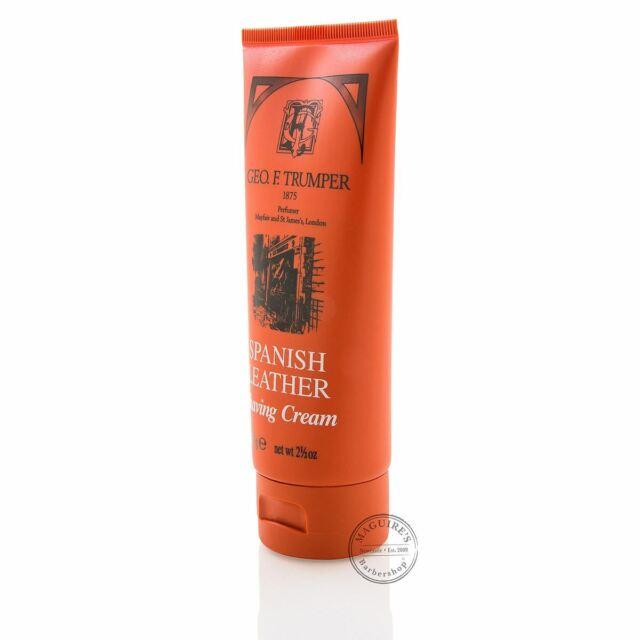 Geo F Trumper Spanish Leather Soft Shaving Cream - 75g