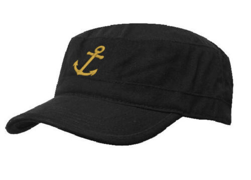 Military Boating Hat ANCHOR Baseball Classic Army Cap PATROL Sailing Skipper