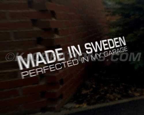SWEDEN Car Decal Sticker Volvo R Design C70 C30 V70 V60 V50 V40 S40 S60 XC90