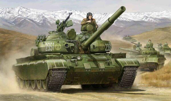 01554 1/35 Scale T-62 BDD Mod.1984 Armor Vehicle Tank Model Trumpeter Plastic