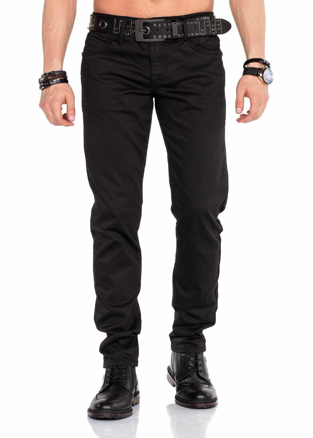 CIPO & BAXX Herren Jeans Hose CD412 schwarz Slim Slim Slim Fit 52bce7