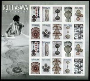 SCOTT #5504-13  2020 Ruth Asawa Artist US Forever Stamps Panes/20 MNH
