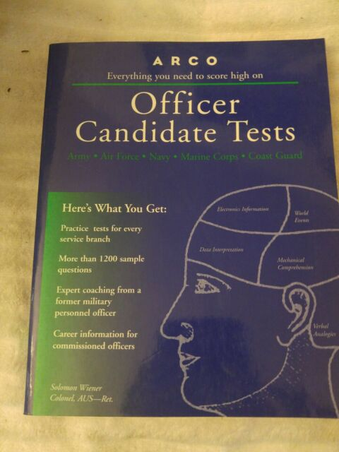 OFFICER CANDIDATE TESTS (4TH ED) By Solomon Wiener