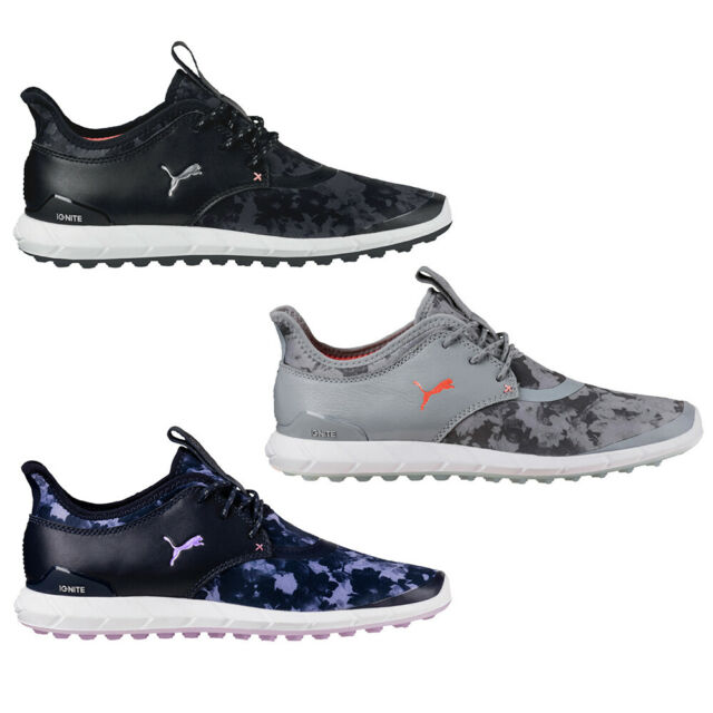 2017 PUMA Women Ignite Sport Floral Golf Spikeless Shoes NEW