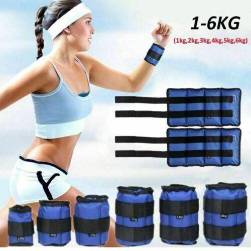 Hand Gewichte 2kg//5kg Gewichtsmanschetten Knöchelgewichte Laufgewichte Fuß