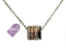 """SWAROVSKI Damen Halskette """"Chain"""" silber, rosegold, Kristalle, 5190009"""