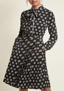 ModCloth-plisado-vestido-de-camisa-con-cuello-corbata