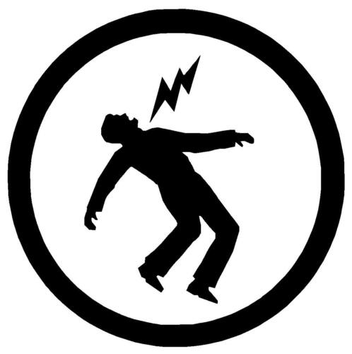 Decal symbole Cut Vinyle Pare-chocs ou Fenêtre Autocollant Avertissement Green Day