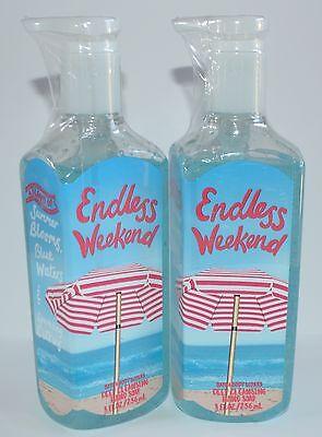 Los Aus 2 Neu Bad Other Bath & Body Supplies Körper Wirkt Endless Wochenende Tiefenreinigung Handseife Preventing Hairs From Graying And Helpful To Retain Complexion