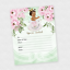 Princess-Baby-Girl-Shower-Invitations-Tea-Baby-Shower-Luncheon-Birthday-QTY-20 thumbnail 2