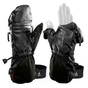 2 Gants Combo Moufles/Mitaines THE HEAT COMPANY Shell Taille 7 NEUF DESTOCKE