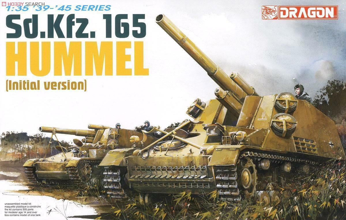Dragon 6150 1 35 Sd.Kfz.165 Hummel ( Initial Version )