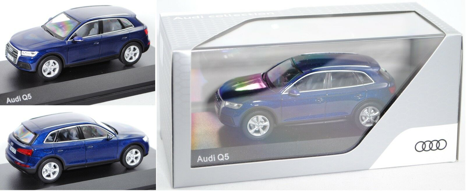 IScale 5011605632 Audi Q5, navarrablue, 1 43, Werbeschachtel