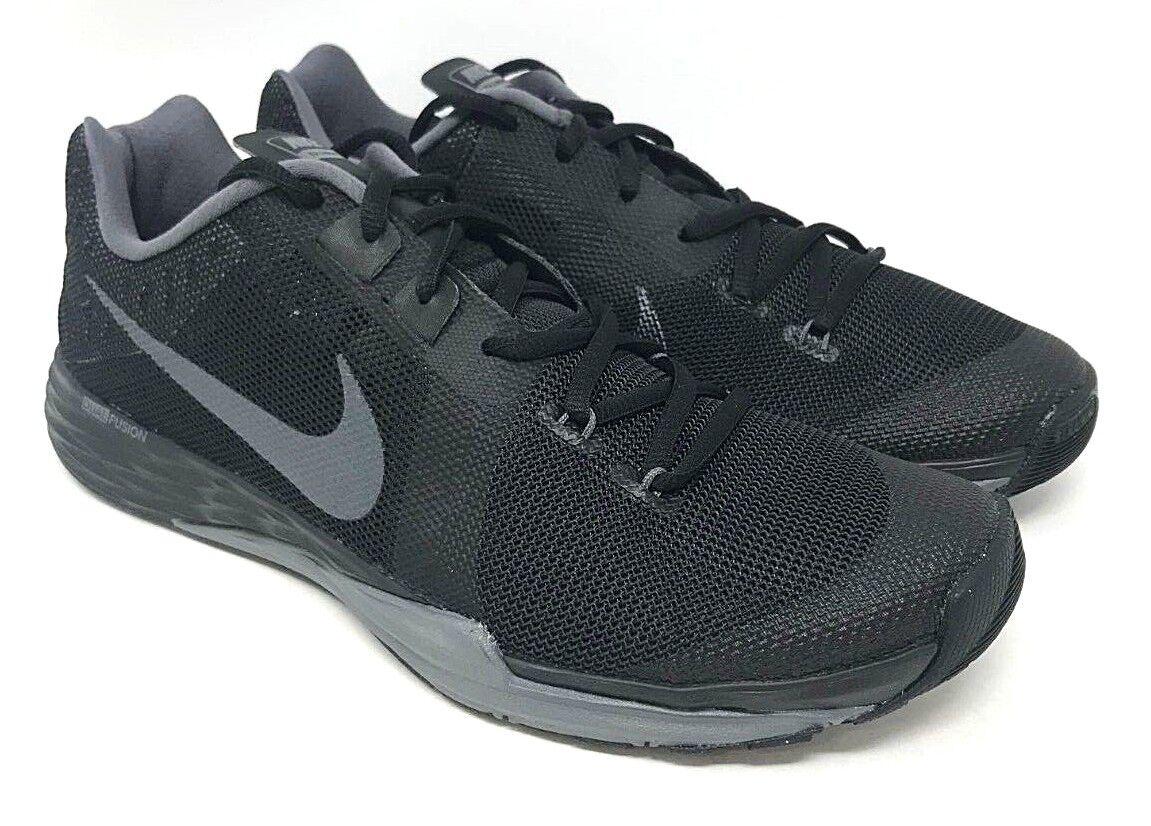 Nike Train Prime Iron DF SIZE 9 Black  Metallic Hematite-Dark Grey